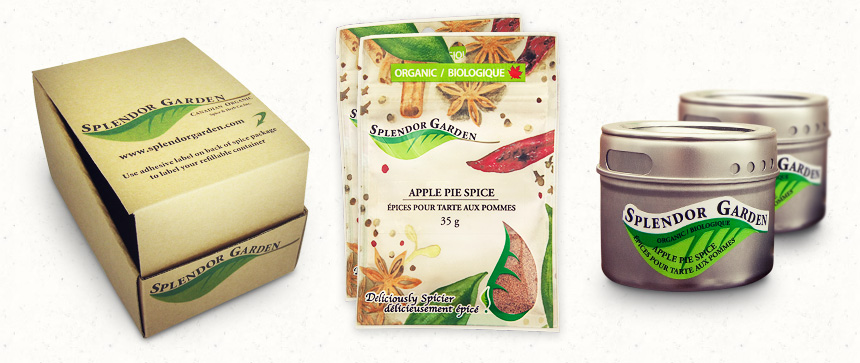 Splendor Garden packaging
