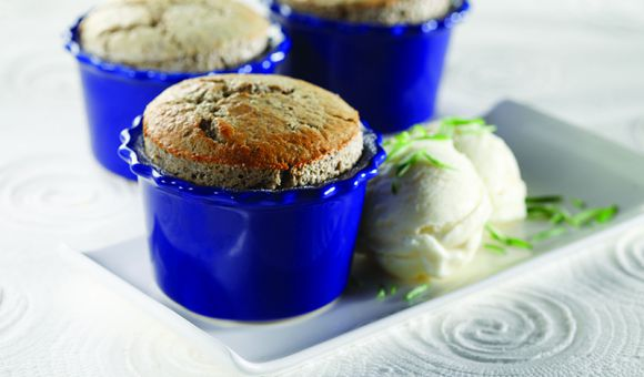 French Lentil Souffle with Star Anise - Canadian Lentils