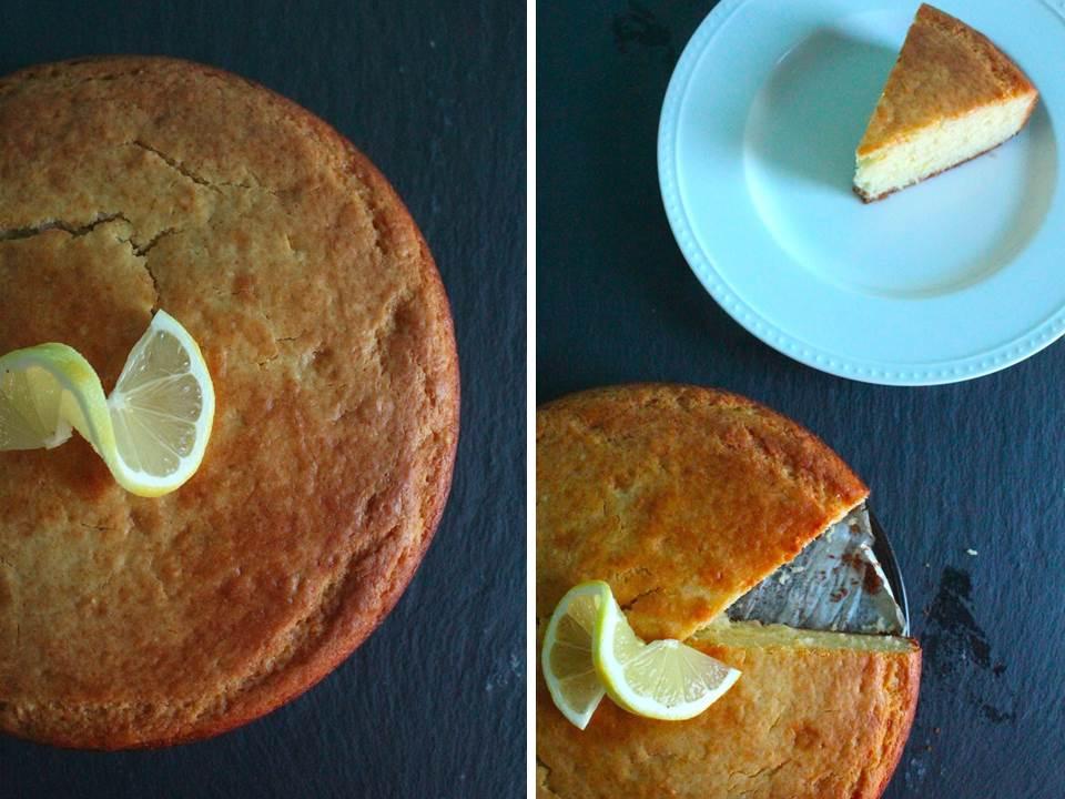 Lemon Olive Oil Cake with Herbes de Provence Glaze by Carey On Lovely
