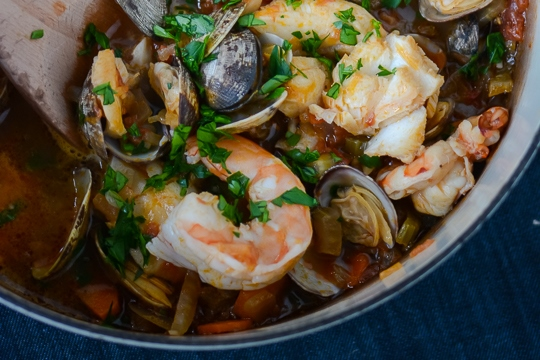 30 minute seafood stew by scaling back blog