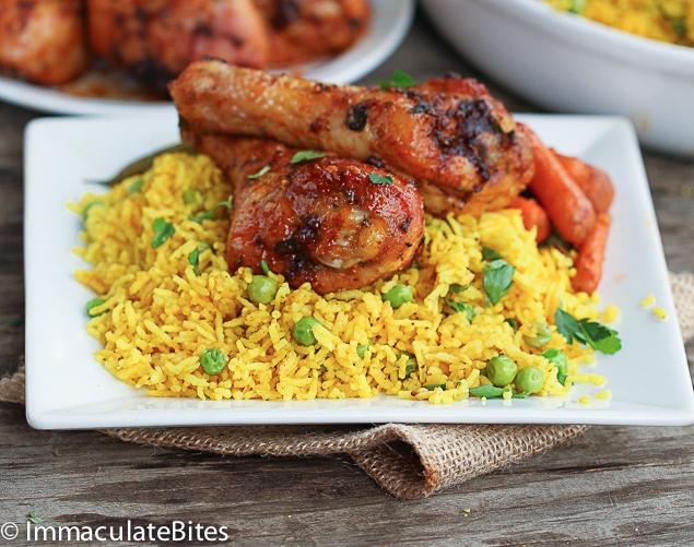 Baked Garlic Paprika Chicken by Africanbites