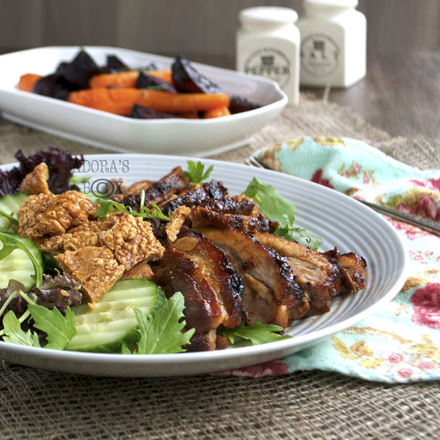 Roast Belly Pork with Garlic Chilli and Fennel Seeds by Adoras Box