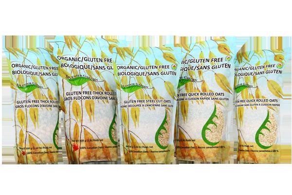 Splendor Garden - Organic Gluten-Free Oats