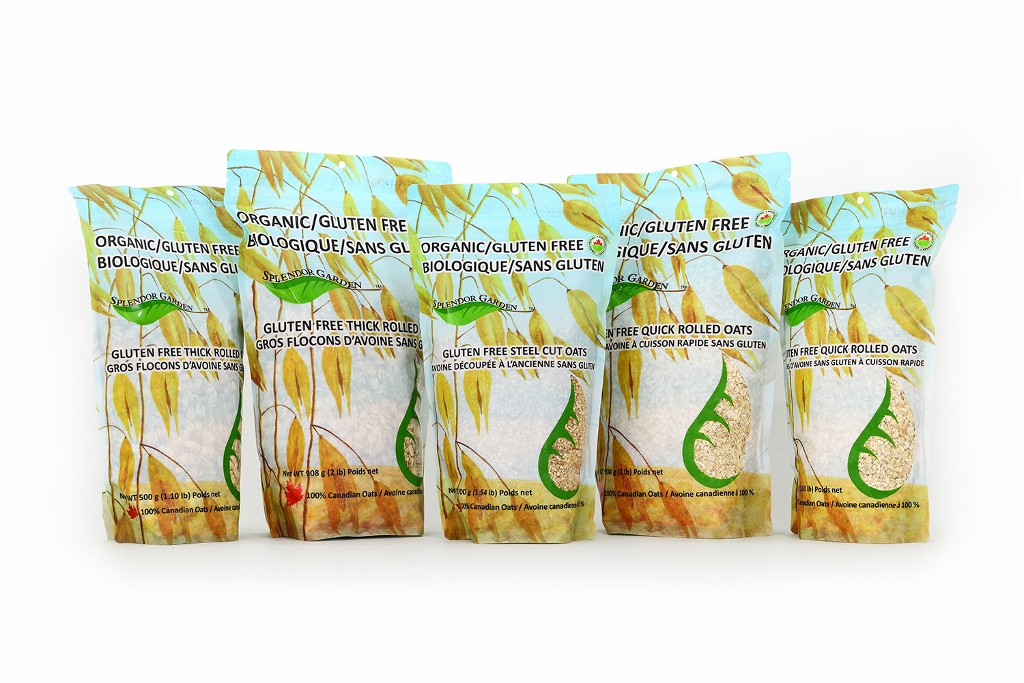Splendor Garden Organic Gluten-Free Oats