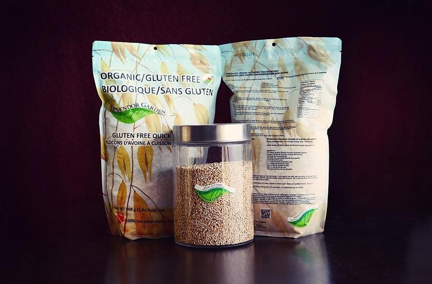 Splendor Garden Organic Gluten-free Oatmeal