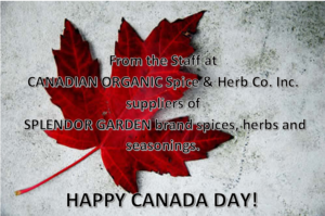 Canada Day from staff