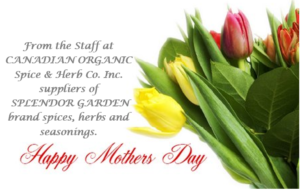 Mothers Day from staff