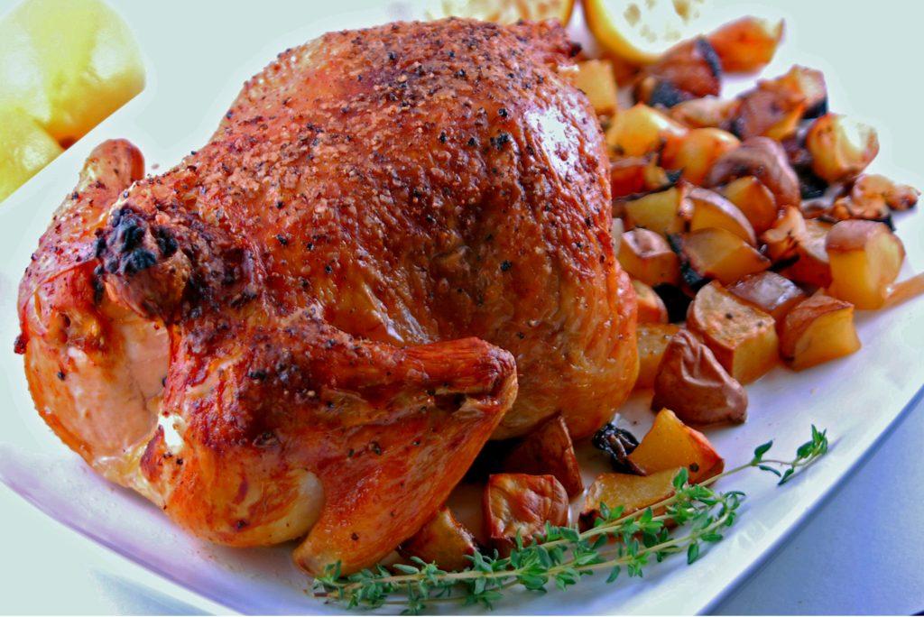 5 Spice Honey Roast Chicken